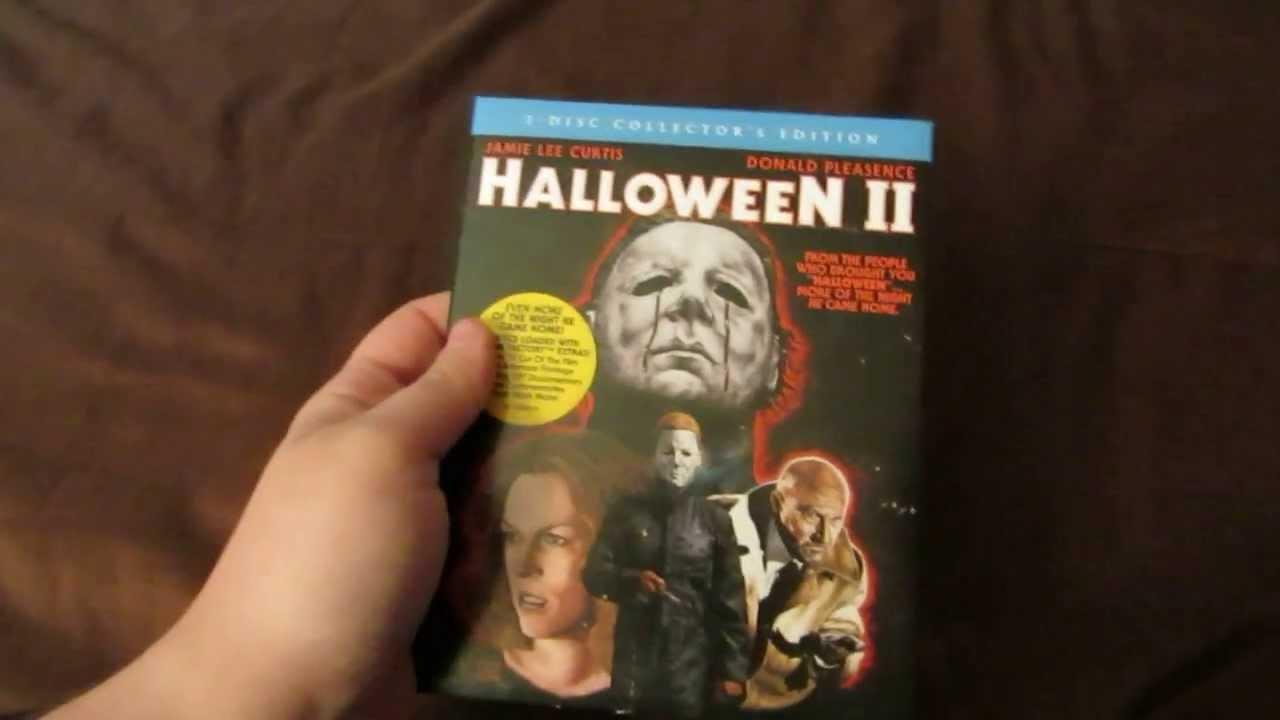 halloween ii collectors edition blu raydvd combo reviewunboxing hd - Halloween Ii Blu Ray
