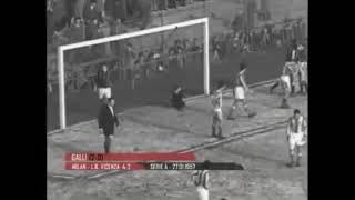Milan - L.R. Vicenza 4-2 - Campionato 1956-57 - 17a giornata
