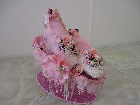 Stunning Shabby Chic Ladies Ballet Slipper Tutorial - jennings644