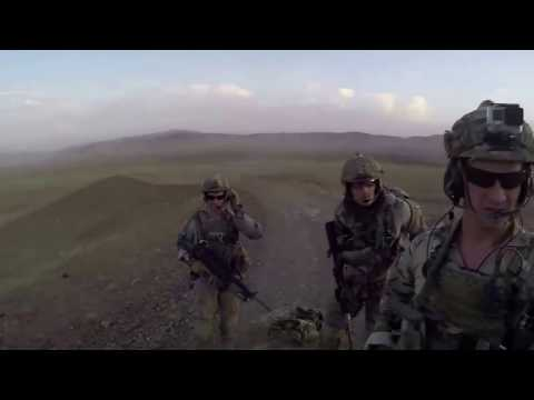 US army Heavy Fighting Assault Live Fire Action -  Helmet Cam - US Special Operations In Action