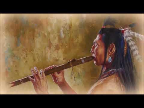 Flauta indígena y