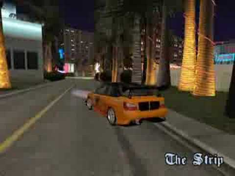 GTA SA n00b drifting