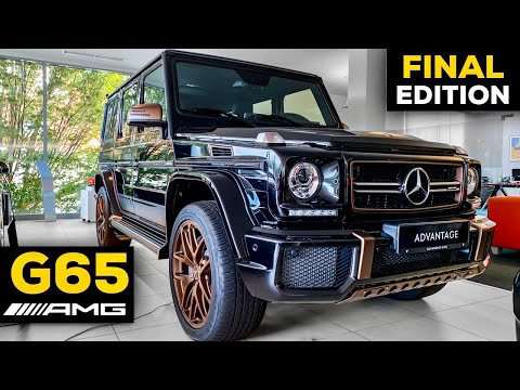 MERCEDES AMG G65 Final Edition EXCLUSIVE Review BRUTAL V12 Exterior Interior & Rolls Royce Ferrari