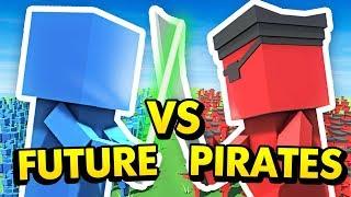 PIRATES vs FUTURE UNITS IN ANCIENT WARFARE 3 Ancient Warfare 3 Funny Gameplay