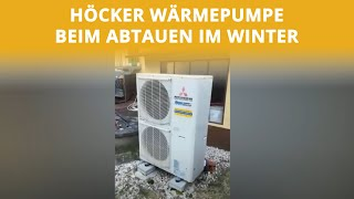 Laufverhalten und Abtau im Winter | Höcker Wärmepumpen
