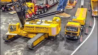 Crazy RC Heavy Load Trucks! Cranes! Tractors!