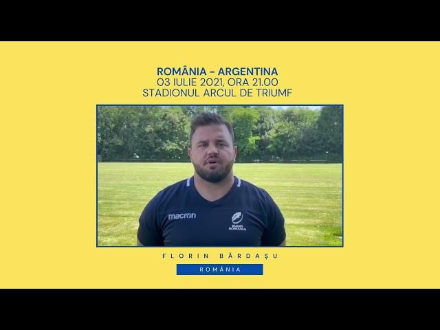 Florin Bărdașu: Ne bucurăm că revenim acasă, pe Stadionul Arcul de Triumf