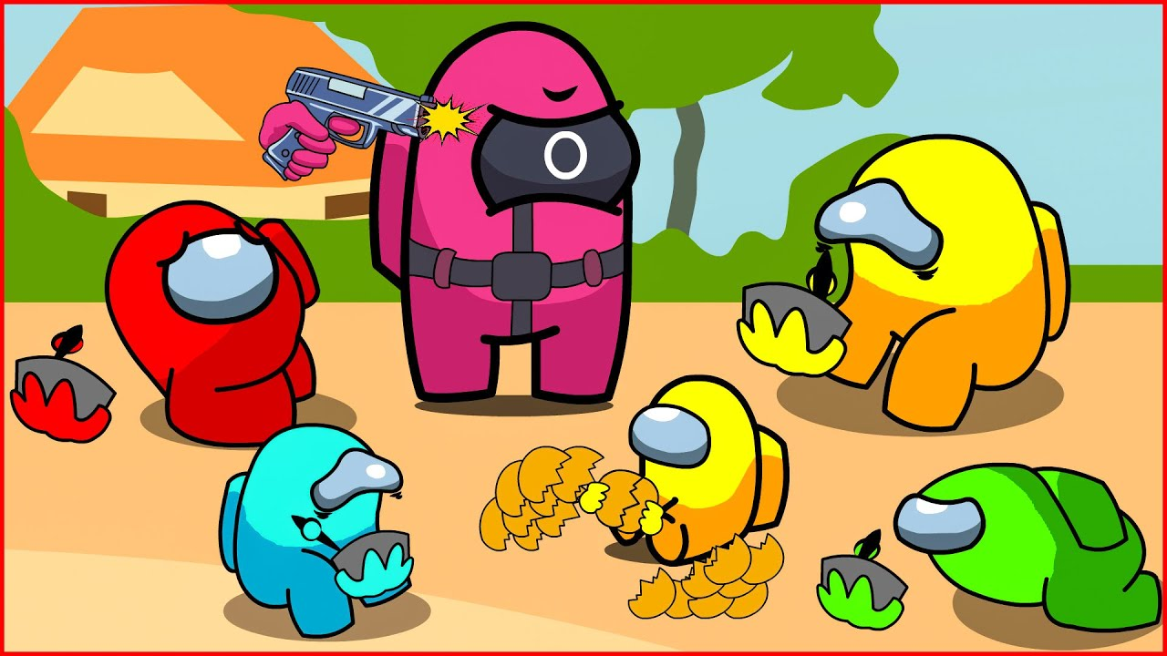 Download Among Us Mini Crewmate But It's Squid Game #8   Among us Animation