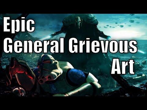 Epic General Grievous Art