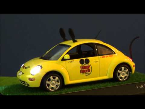 Minichamps 1/43, Volkswagen New Beetle Mouse LED tuning by MBW
