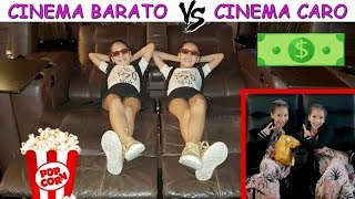 CINEMA BARATO VS CINEMA CARO