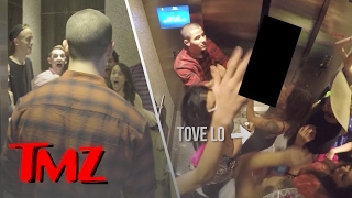 Nick Jonas Elevator Dance Party In Vegas!