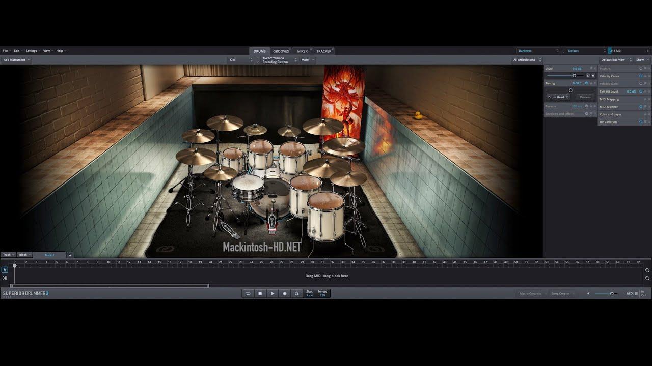 Toontrack Superior Drummer for macOS