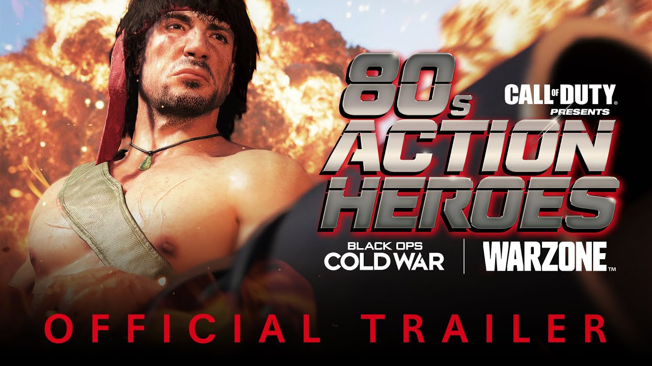 80s Action Heroes Trailer | Season Three | Call of Duty®: Black Ops Cold War & Warzone™