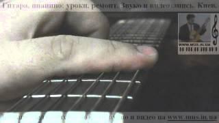 Мой гитарный кавер 'Луч Солнца золотого' из бременских музыкантов Уроки в Киеве