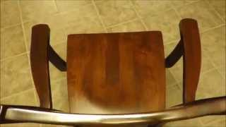 Amish Handcrafted Contemporary Dining Room Chair 2