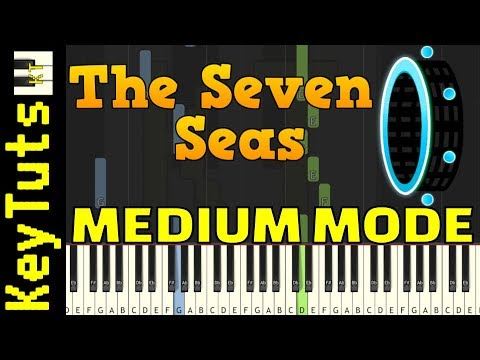 Learn To Play Seven Seas From Geometry Dash - Medium Mode