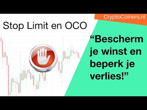 Bescherm Je Crypto-winst Met Stop Limit Orders En OCO