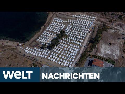DEUTSCHLAND HILFT: Geste der Humanität soll Lage auf Lesbos entspannen