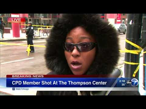 Witness in Thompson Center food court describes shooting aftermath