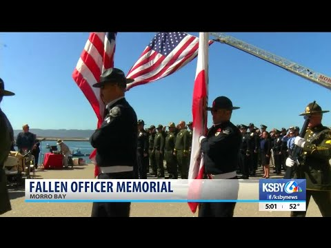 Fallen law enforcement officers honored at memorial in SLO County