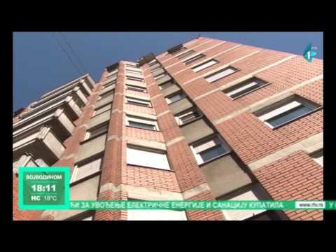 Sremska Mitrovica pomaže održavanje stambenih zgrada