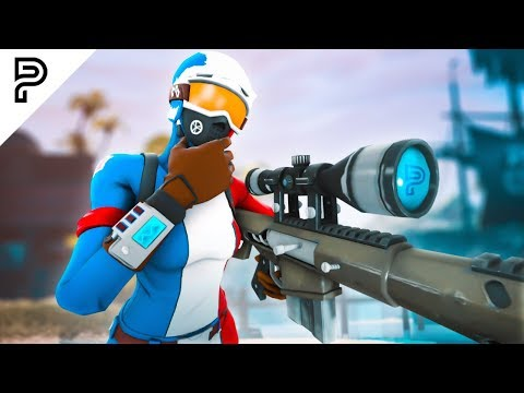 He hits the BEST NOSCOPE TRICKSHOTS on Fortnite...