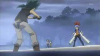 Beyblade Galaxy Pegasus vs Rock Leon amv linkin park papercut