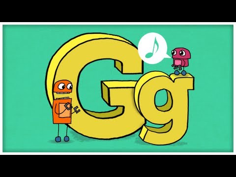 """ABC Song: The Letter G, """"Gimme G"""" by StoryBots"""