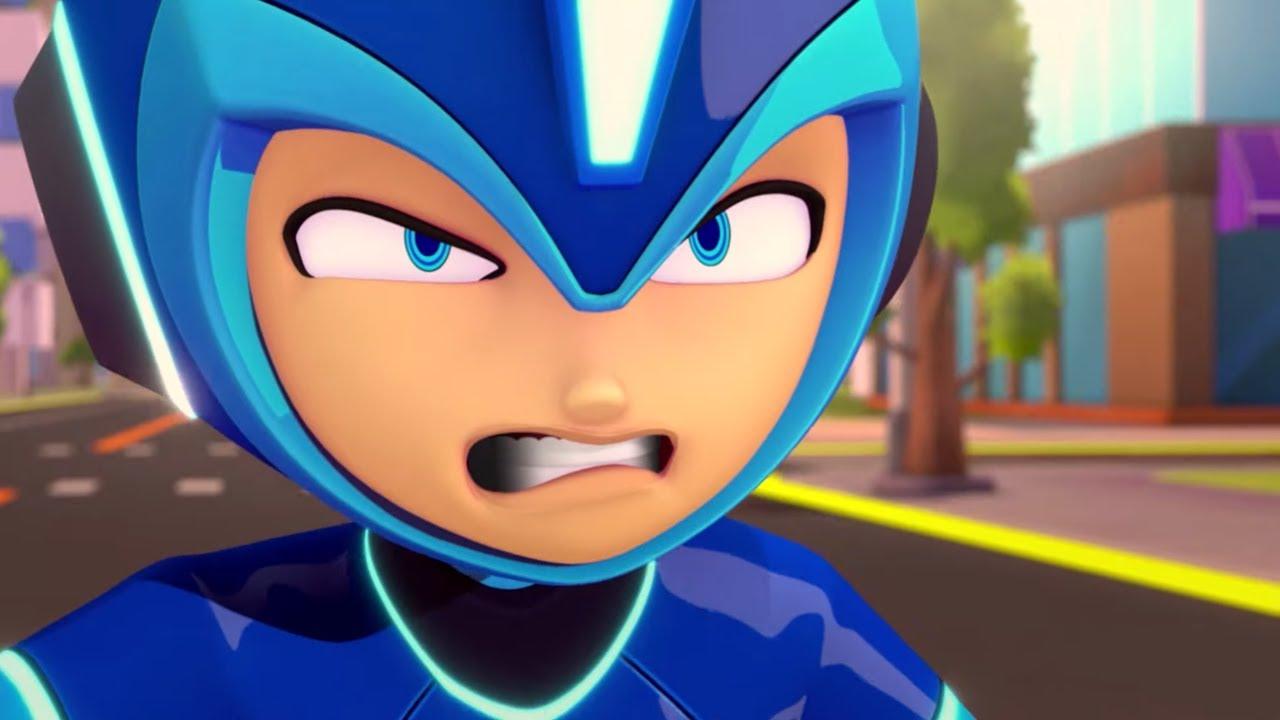 МегаМен: Полный заряд - Отбрасывая тень + сборник серий | Фантастика Приключения Мультик для детей