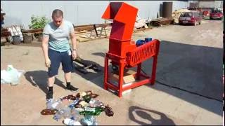 Дробилка Molot-5000. Дробление отходов.(, 2016-06-23T14:09:59.000Z)