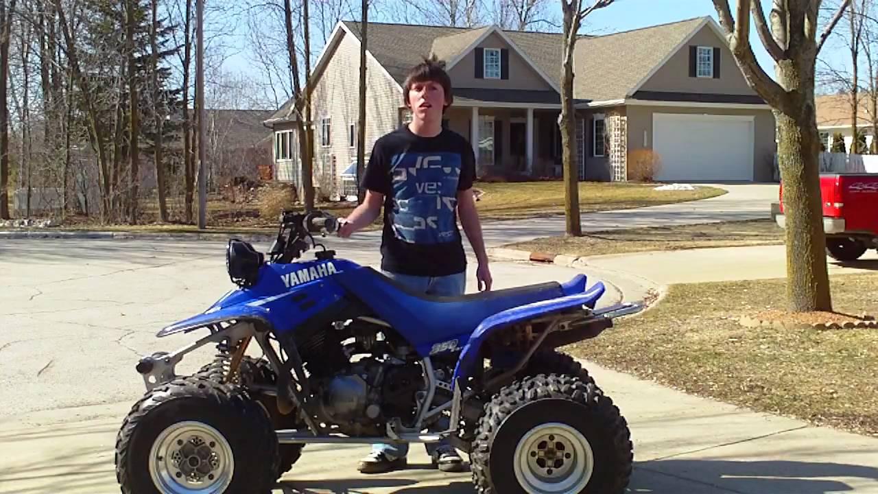 2002 Yamaha Warrior 350  YouTube