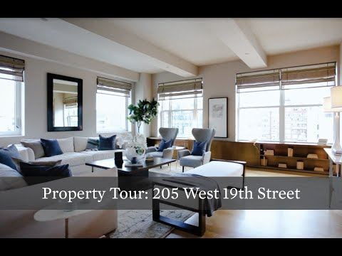 Property Tour: Full-Floor, Inventive Chelsea Loft at 205 W 19th St