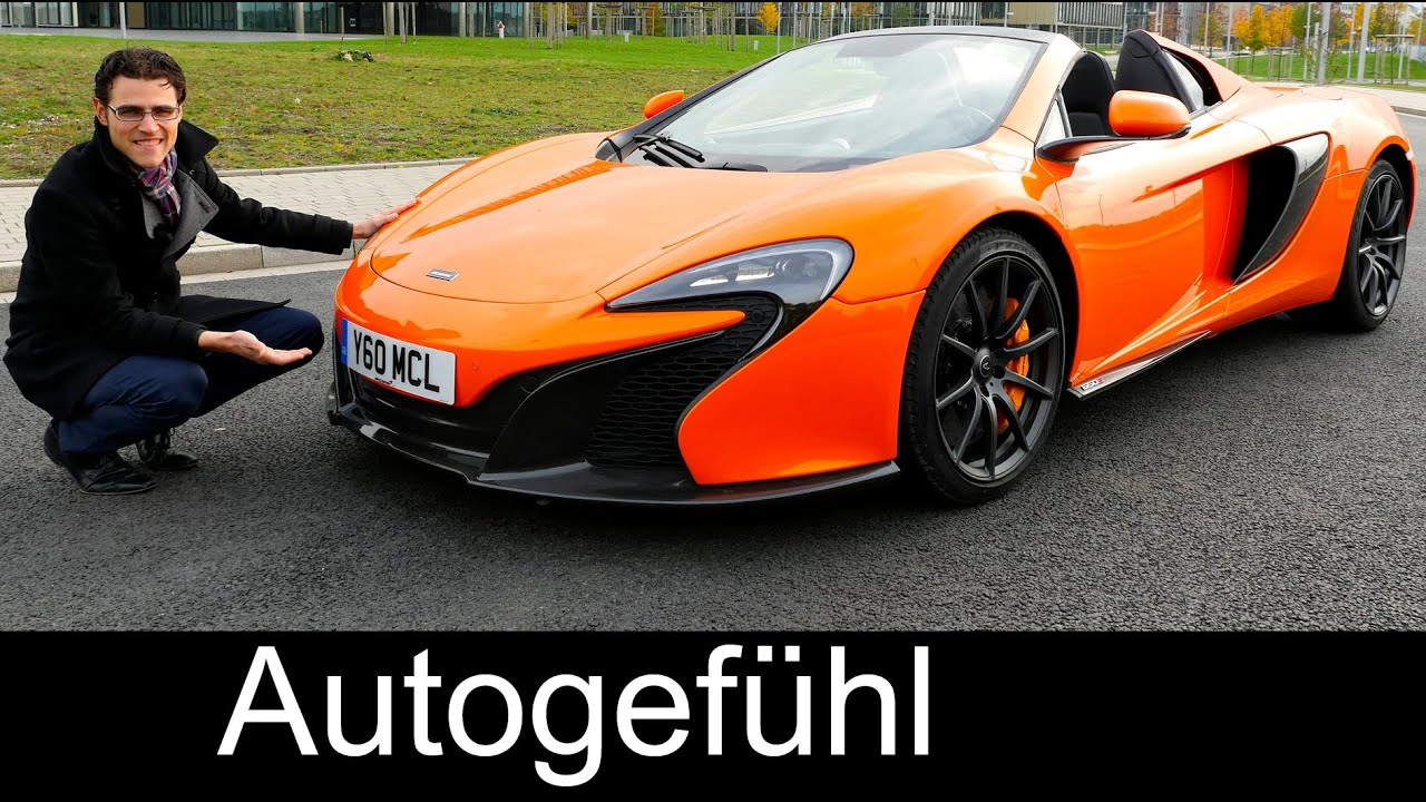 mclaren 650s spider full review test driven v8 650 hp convertible