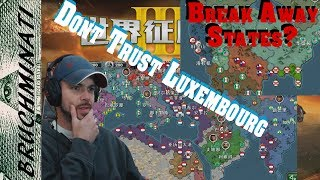World Conqueror 3 1939-1984 Mod Review; Never Trust Luxembourg! Seceding US States?