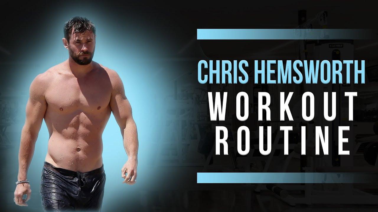 Chris Hemsworth's 20-minute full-body workout