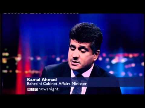Paxman targets the Minister answering to proof of Bahrain torture uncomfortable