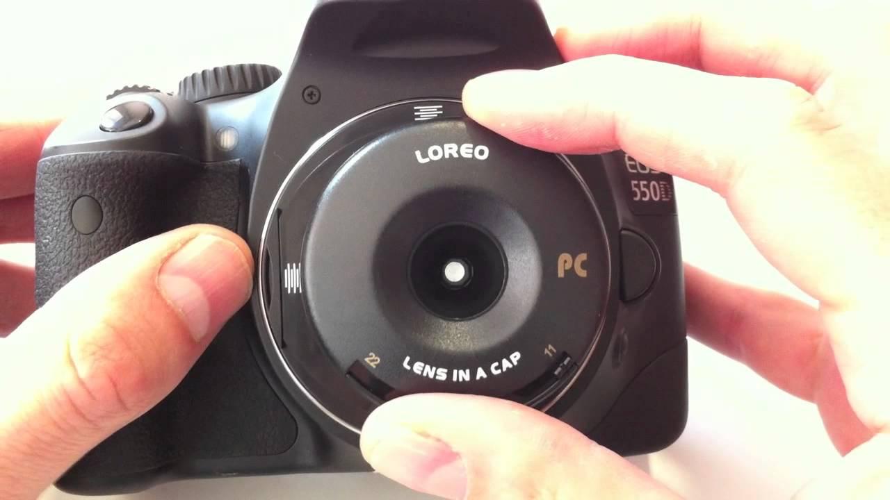Shift-Kreativ-Objektiv Loreo PC Lens in a Cap by enjoyyourcamera ...
