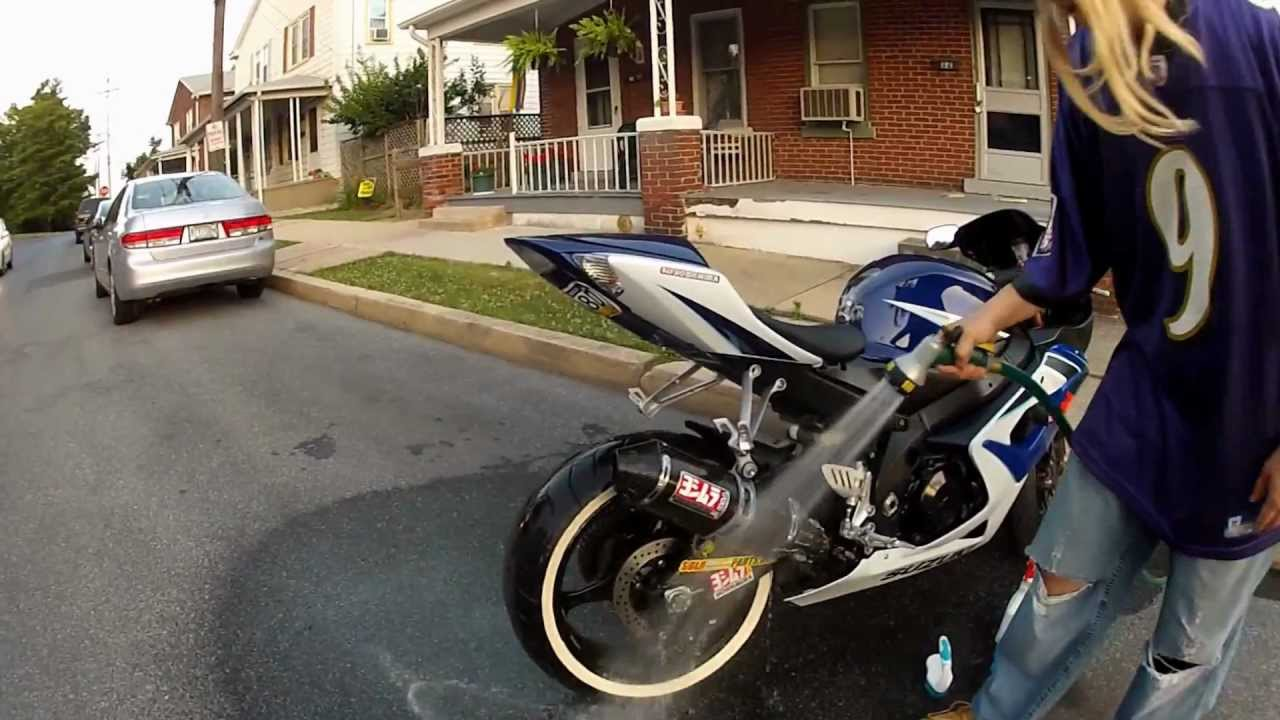 sportbike with whitewall tires pt2
