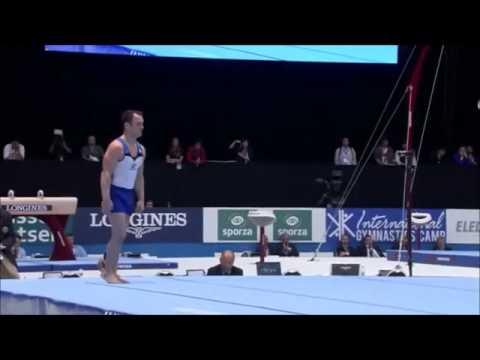 Diego Matias Hypólito BRA EF FX 2013 World Championships