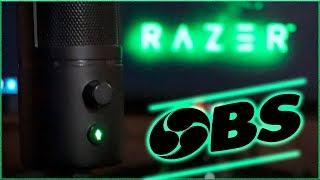 Настройка микрофона razer seiren x в OBS studio своими руками