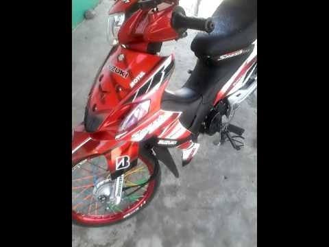 Suzuki Smash Sticker YouTube - Suzuki motorcycles stickers