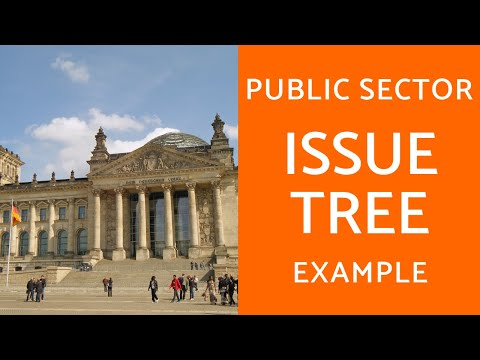 Public Sector Issue Tree Example