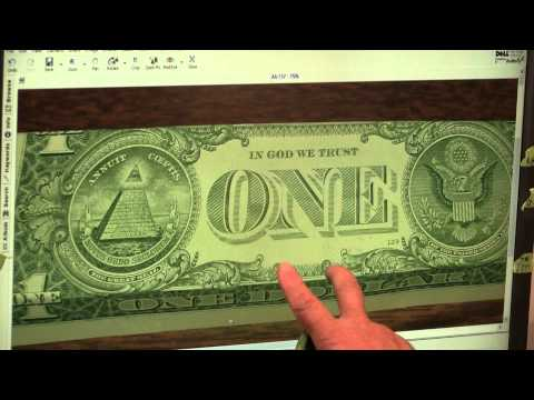 ARK OF THE COVENANT EXACT Replica on $1Bill Believe it or NO