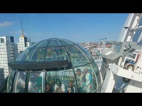 Ericsson Globe Skyview Stockholm Sweden 2018