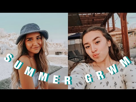 SUMMER MAKEUP ROUTINE // GRWM thumbnail