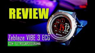SMARTWATCH Zeblaze VIBE 3 Review