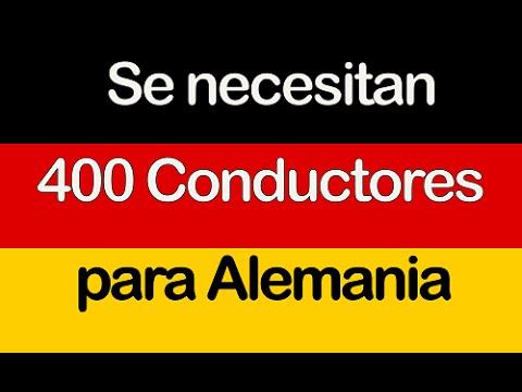 Se necesitan 400 Conductores de Autobús o camión para Alemania