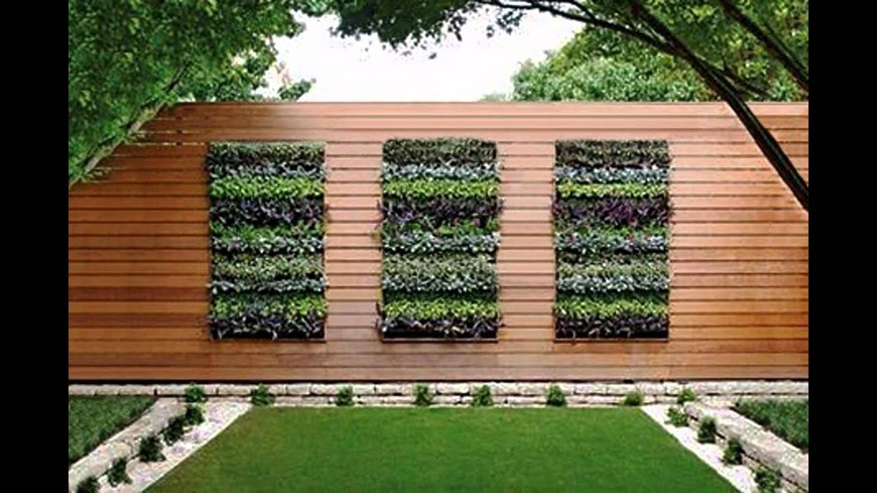 Vertical planter boxes