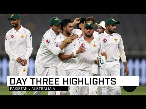 Pakistan Pacemen Impress In Perth Tour Match
